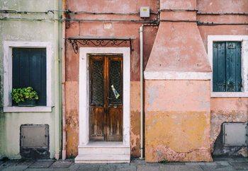Pastel Street Valokuvatapetti