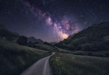 Path To The Stars Valokuvatapetti