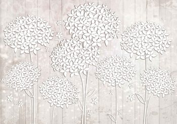 Pattern Flowers Valokuvatapetti