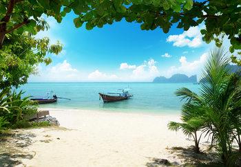 Kuvatapetti, TapettijulistePhi Phi Island