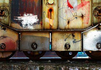 Rusty Train Valokuvatapetti