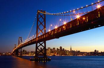SAN FRANCISCO - skyline Kuvatapetti, Tapettijuliste