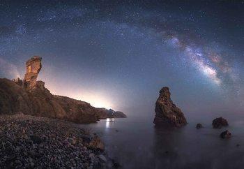 Sea Of Galaxies Valokuvatapetti