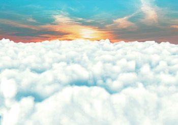 Sky Clouds Sunset Valokuvatapetti