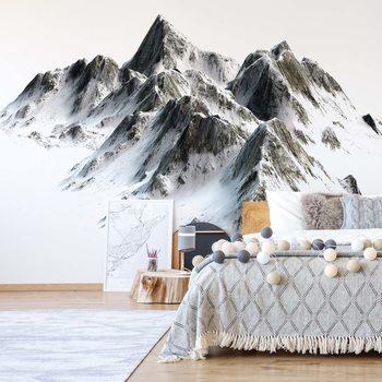 Snowy Mountain Valokuvatapetti