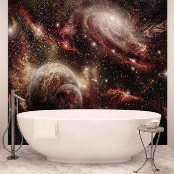 Space Planets Valokuvatapetti