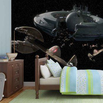 Star Wars Droid Control Ship Lucrehulk Valokuvatapetti
