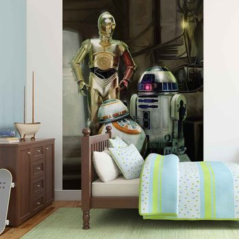 Kuvatapetti, TapettijulisteStar Wars Droids