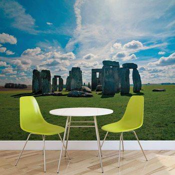 Stonehenge Natur Valokuvatapetti