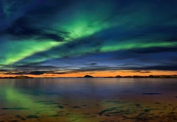 Sunset In Andenes Valokuvatapetti
