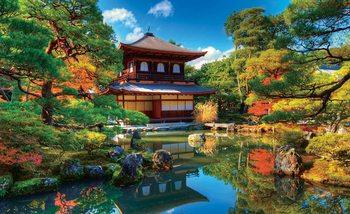 Temple Zen Japan Culture Valokuvatapetti