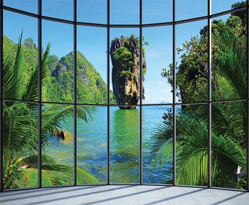 Thaimaa - Window Kuvatapetti, Tapettijuliste