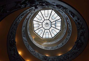 The Double Helix Staircase Valokuvatapetti