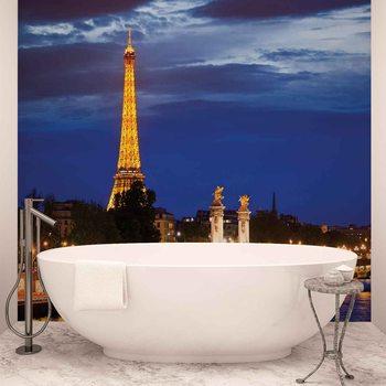 The Eiffel Tower Valokuvatapetti