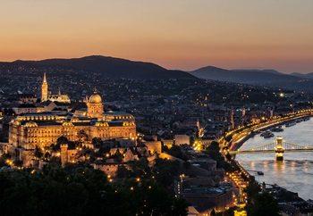 The Lights Of Budapest Valokuvatapetti