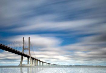 Vasco Da Gama Bridge Valokuvatapetti