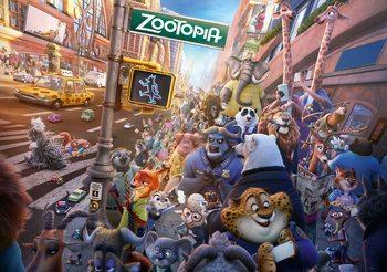 Walt Disney Zootopia Valokuvatapetti