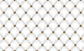 White Pattern Checkered Valokuvatapetti