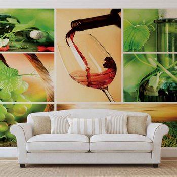 Wine Valokuvatapetti