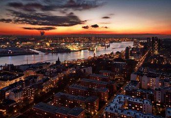 Winter Sunset Valokuvatapetti