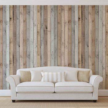 Wood Planks Texture Valokuvatapetti