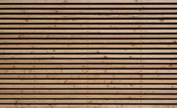 Wood Slats Valokuvatapetti