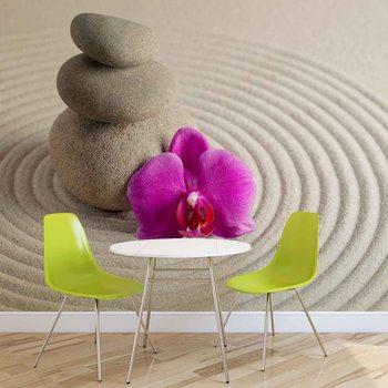 Zen Garden Flower Valokuvatapetti