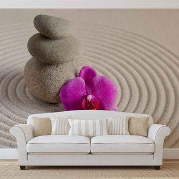 Kuvatapetti, Tapettijuliste Zen Garden Flower