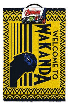 Kynnysmatto Black Panther - Welcome to Wakanda