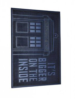 Kynnysmatto Dr. Who - Tardis (Rubber)