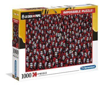 Puzzle La Casa De Papel - Impossible