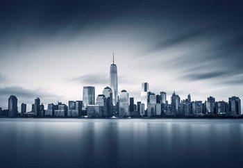 Lasitaulu  Blue Manhattan
