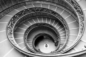 Lasitaulu City - Black and White Stairs