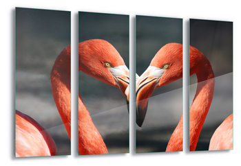 Lasitaulu Love Flamingoes