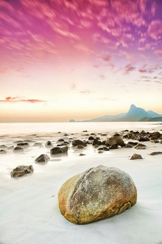 Lasitaulu Pink World - Pink Beach