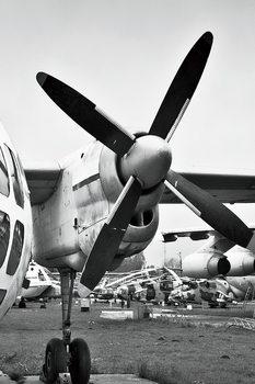 Lasitaulu Plane - Cockpit