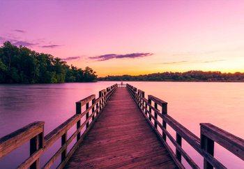 Lasitaulu  Purple Pier