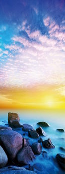 Lasitaulu Sea - Colored stones