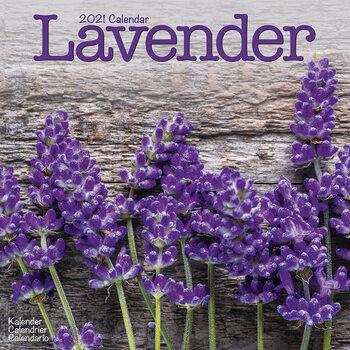 Calendar 2021 Lavender