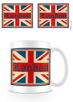 Cup London - Vintage Union Jack
