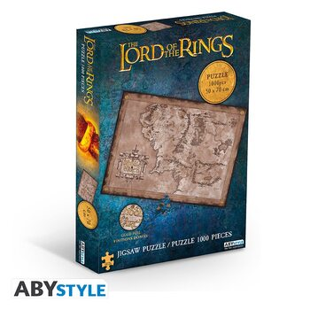 Puzzle Lord of the Rings - Middle Earth