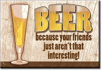 BEER - your friends Magneetti