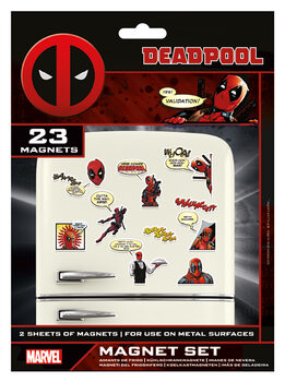 Magneetti Deadpool - Comic