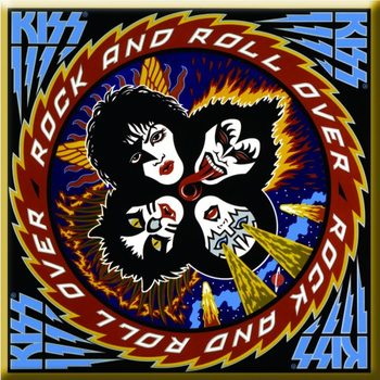 Kiss - Rock & Roll Over Album Cover Magneetti