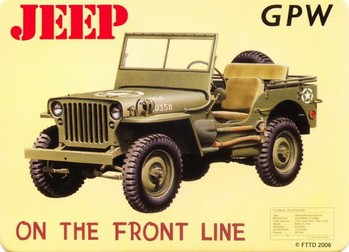 JEEP - gpw Magnet