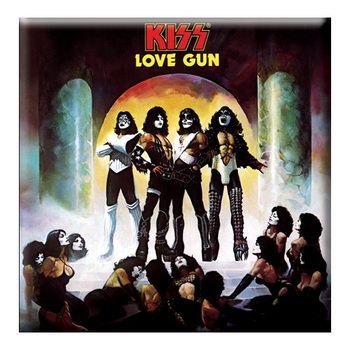 Kiss - Love Gun Album Cover Magnet