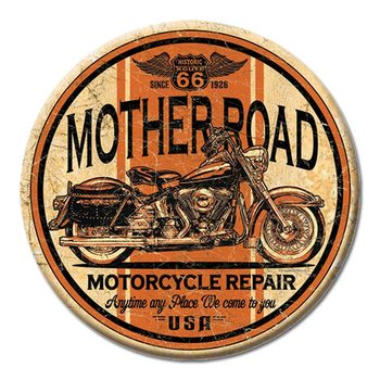 Mother Road - Motorcycle Repair Magnet