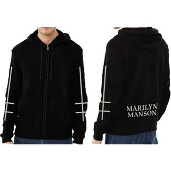 Sweat Marilyn Manson - Cross Logo