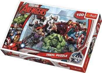 Palapeli Marvel Avengers: Let's Attack