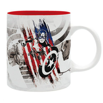 Caneca Marvel - Captain America Design